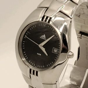 Vintage Adidas Watch with Black Face with Date